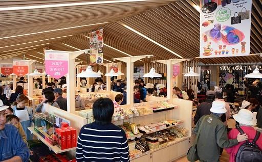 道の駅米沢がオープンしました_H29年度活用事業