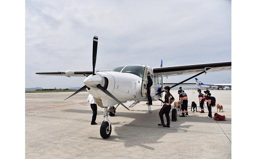北海道地震被災地へ「空飛ぶ医師団」派遣