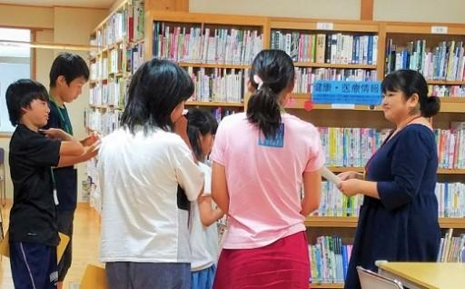 『津野町子ども司書』誕生!