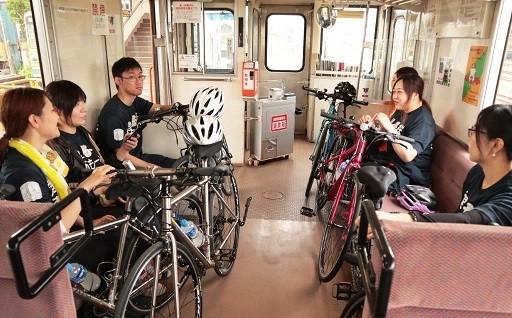 津鉄ア・モーレ レンタサイクルで沿線の魅力を探る