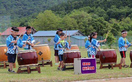 """赤井川村には伝統芸能""""カルデラ太鼓""""があります!"""