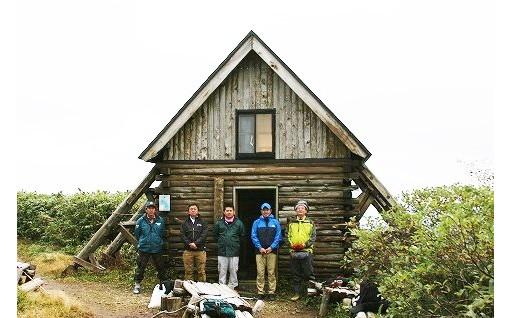 白神山地の「白神岳避難小屋」を修復するために!!