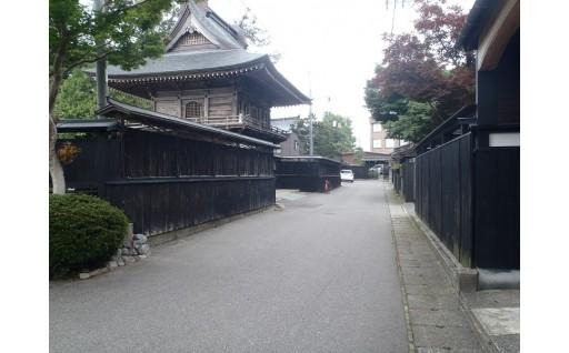 新潟県内初の認定となる「歴史的風致維持向上計画」