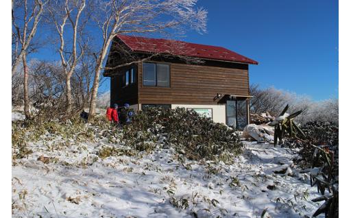 五葉山石楠花荘が完成しました