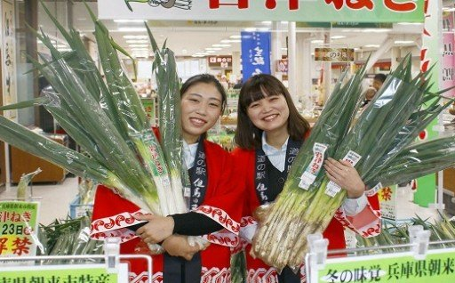 朝来市特産品「岩津ねぎ」の生産・販路拡大に活用!