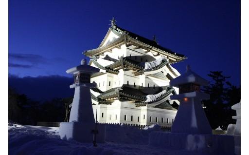 弘前城雪燈籠まつりが開催されます