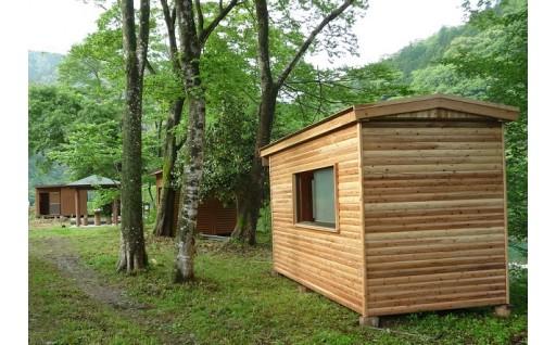「黒瀬キャンプ場」にキッチン台を新設