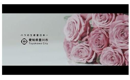 生産量日本一「とよかわのバラ」PR動画を作成!