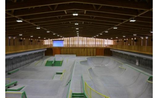 村上市スケートパークが完成しました!