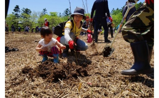 豊かな自然を後世に引き継ぐために~植樹祭を開催~