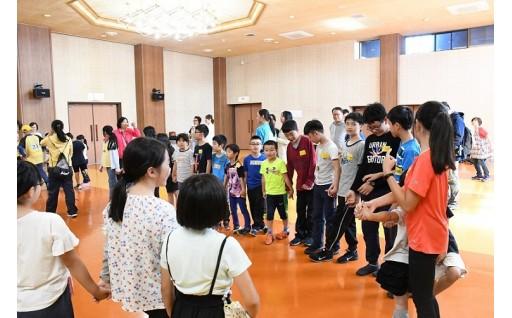 台湾と黒松内小学校の児童が親交を深めました!