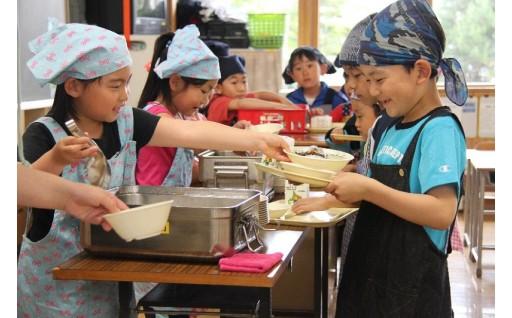 厚岸町では学校給食費の無償化を行っています