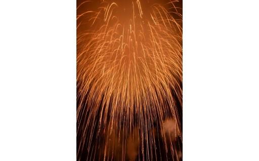 開港50周年記念に二尺玉花火を打ち上げました!