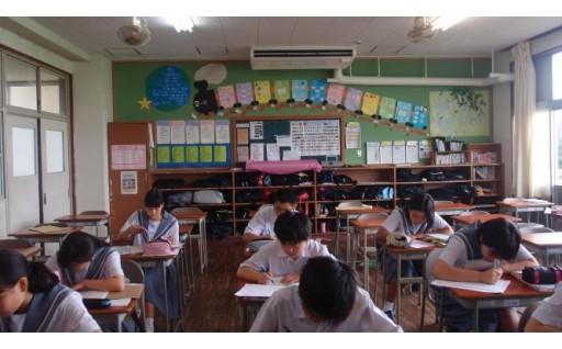 小中学校の普通教室にエアコンを設置