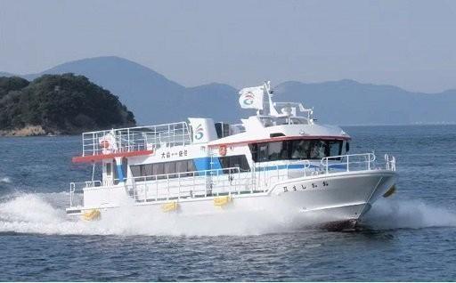 離島航路維持のために使っています。
