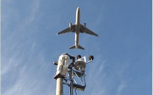 航空機騒音測定システム事業