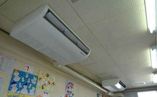 市内全小中学校のエアコン設置に活用しています!