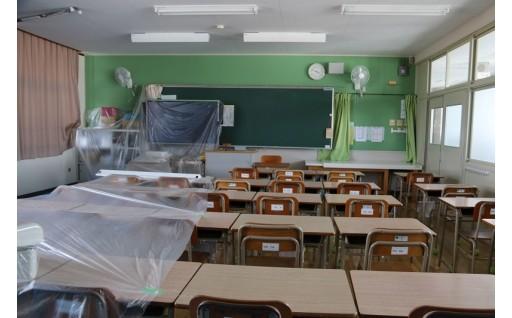小中学校施設改善(H30ふるさと納税活用報告⑧)