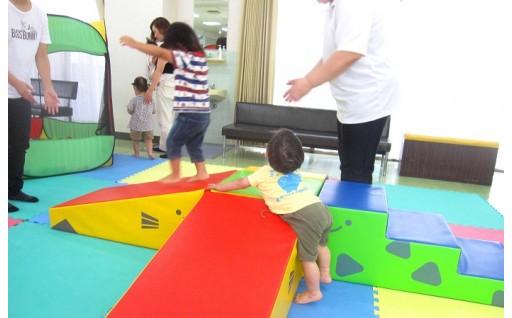 子ども達の為の発育玩具を購入させて頂きました。