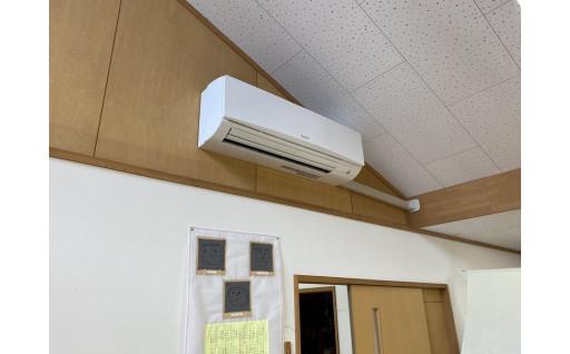 しろうま保育園 エアコン設置ができました