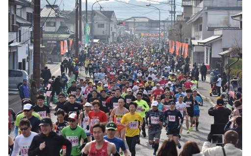 心地よいおもてなしを!ひとよし温泉春風マラソン