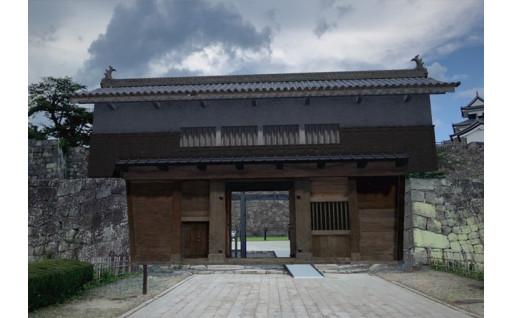 小峰城「清水門」 復元が始まります