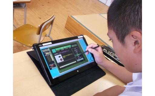 児童生徒に1人1台タブレット端末整備