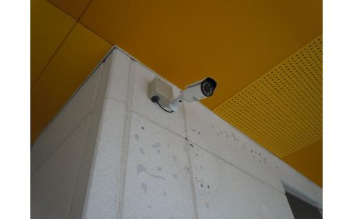 保育所に防犯カメラを設置しました