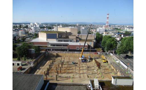 新庁舎の建設工事が始まりました!