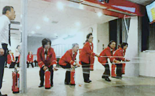 女性防火クラブ員視察研修事業