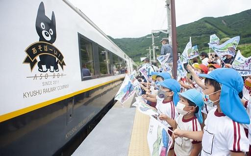 熊本地震から4年4ヵ月ぶりにJR豊肥本線全線開通