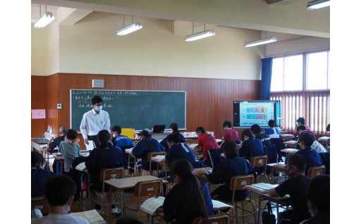令和元年度 中学校教育環境の整備に活用
