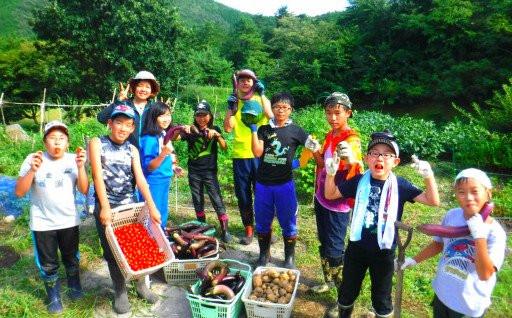 自然体験から学べる山村留学事業