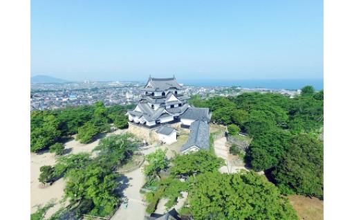 ふるさとの誇り彦根城の保存整備に活用しています!