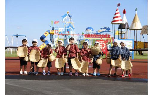 幼稚園・認定こども園の遊具整備に活用しています