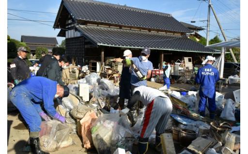災害ボランティア活動の支援