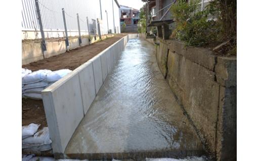 桜川補修工事