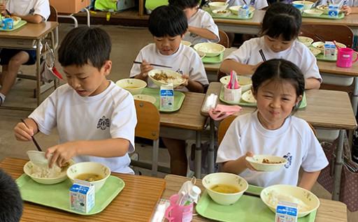 学校給食費無償化事業について