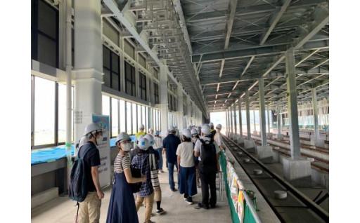 北陸新幹線「越前たけふ」駅の市民見学会