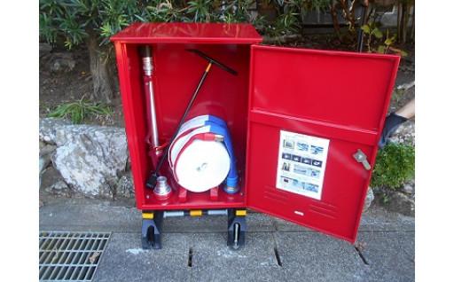 消火栓ボックスを設置しました