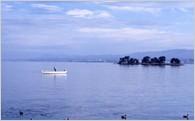 ① 宍道湖、中海などの自然環境、自然景観の保全やこれらを活かした観光、産業の振興