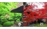 3)紅葉の名所「九年庵」の保全