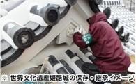 ①世界文化遺産「国宝」姫路城の保存・継承