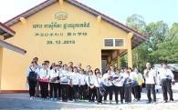 カンボジアに学校を贈る運動