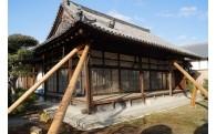 奈良県指定文化財「達磨寺方丈」の修復