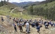 ①森林の保全と資源循環に関する事業