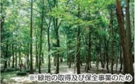 9.緑地の取得及び保全事業のため