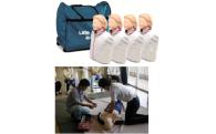 ⑨ 救命講習環境を向上し、応急手当の普及啓発をはかります。