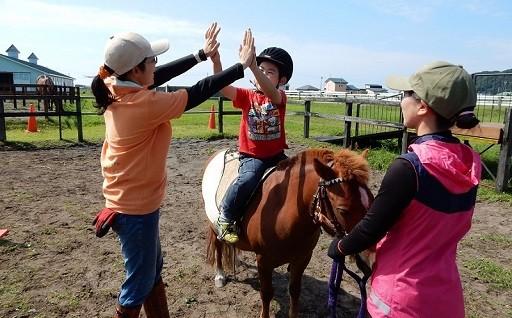 乗馬療育事業