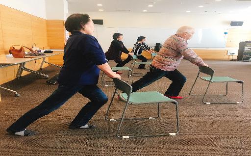 高齢者の健康づくりへの支援